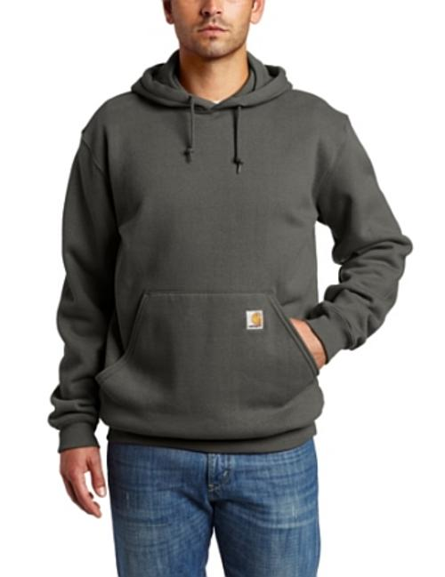 Men's Heavyweight Hooded Pullover Sweatshirt by Carhartt in Brick Mansions