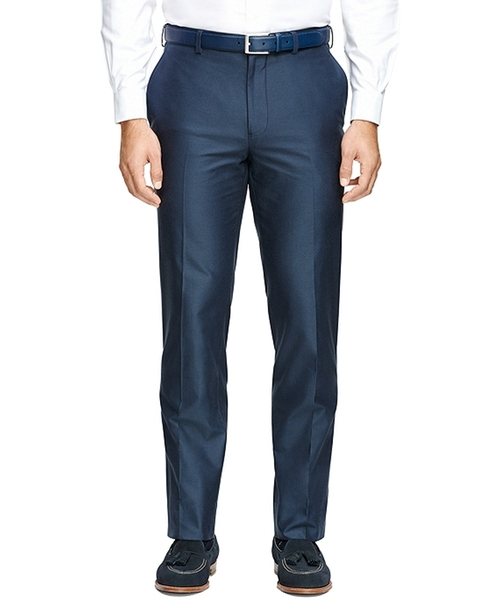 Fitzgerald Fit Plain-Front  Dress Trousers by Brooks Brothers in My All American