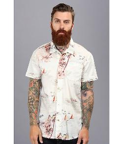 Hawaiian Print Shortsleeve Shirt by Scotch & Soda in Pain & Gain