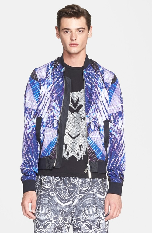 Print Bomber Jacket by Just Cavalli in American Ultra