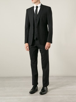 Classic Three-Piece Suit by Dolce & Gabbana in Empire