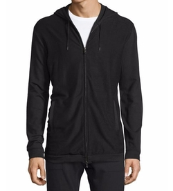 Stretch-Knit Zip Hoodie by John Varvatos Star USA  in The Flash