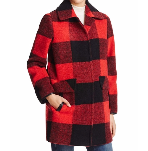 Paul Bunyan Plaid Coat by Pendleton in Unbreakable Kimmy Schmidt - Season 2 Episode 10