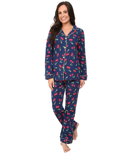 Long Sleeve Classic PJ Set by BedHead in The Mindy Project - Season 4 Episode 1