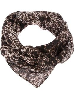 Printed Scarf by CARVEN in This Is Where I Leave You