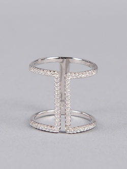 Pave Double Ring by Armitage Avenue in Pretty Little Liars