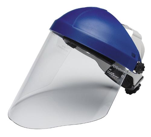 Ratchet Face Shield Headgear by 3M in Project Almanac