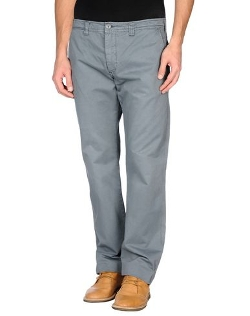 Mid Rise Casual Pants by Woolrich in Dope