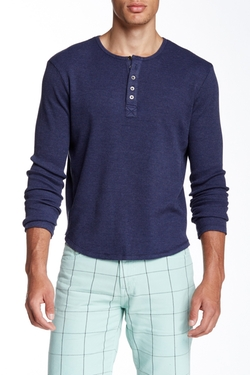 Thermal Henley Shirt by Joe's Jeans in 99 Homes