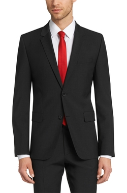 Virgin Wool Sport Coat by Hugo in Elementary