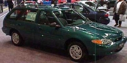 1997 Escort Wagon Car by Ford in If I Stay