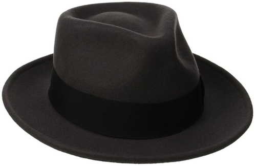 Classico Men's Crushable Wool Felt Fedora Hat by Scala in Bridge of Spies