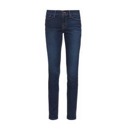 Le Skinny De Jeanne Mid-Rise Jeans by Frame in Gypsy