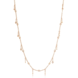 Diamond Shaker Necklace by Jacquie Aiche in Keeping Up With The Kardashians