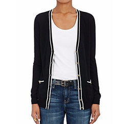 Tipped Cashmere Cardigan by Barneys New York in How To Get Away With Murder