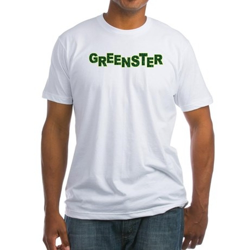 Greenster Fitted T-Shirt by Cafe Press in High School Musical 3: Senior Year