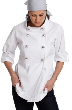 Women's Trench Chef Jacket by Shannon Reed in The Hundred-Foot Journey