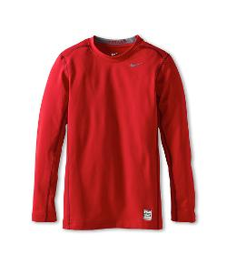 Kids Hyperwarm Compression L/S Top by Nike in Let's Be Cops