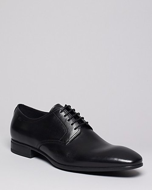 Veros Oxfords Dress Shoes by Boss Hugo Boss in Blackhat