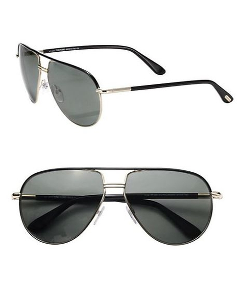 Cole Metal Aviator Sunglasses by Tom Ford Eyewear in The Walk