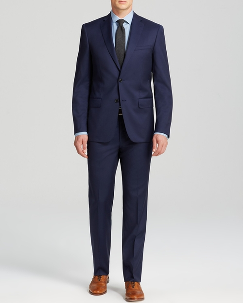 Luxe Solid Suit by John Varvatos Star USA Luxe in Jason Bourne