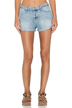 Joanie Denim Short by J Brand in Dirty Dancing