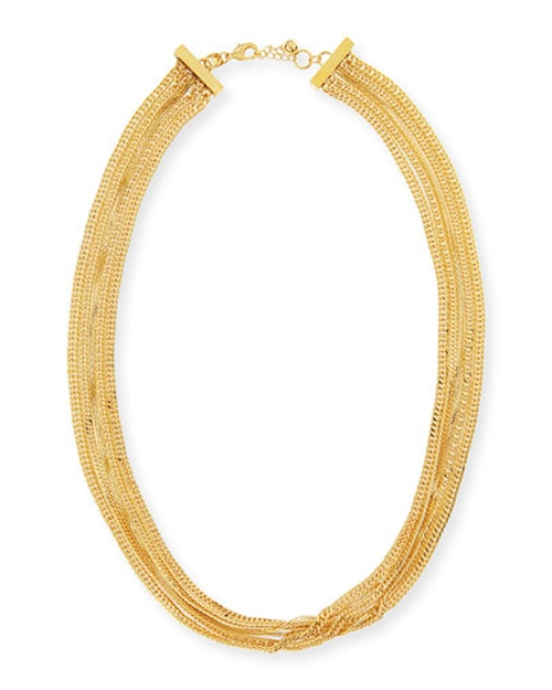 Long Multi-Strand Necklace by Tuleste in Bridesmaids