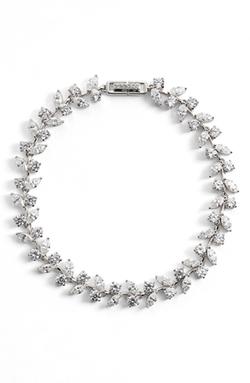 'Josephine' Cubic Zirconia Line Bracelet by Nadri  in John Wick