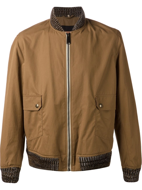 Zipped Bomber Jacket by Levi's: Made & Crafted in Self/Less