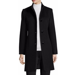 Mock-Neck Wool Coat by Fleurette in How To Get Away With Murder