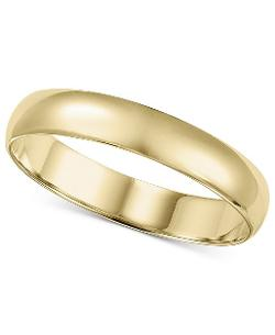 Gold Wedding Band by Macy's in John Wick