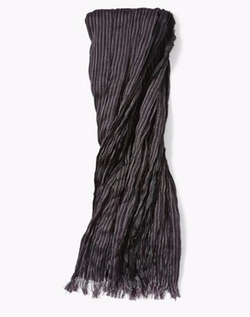 Merino Wool Striped Scarf by John Varvatos in The Flash