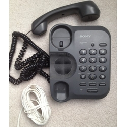 Corded Phone with Speed Dial by Sony in Blackhat