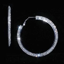 Stone Hoop Earrings by ABS by Allen Schwartz Jewelry in Pitch Perfect 2