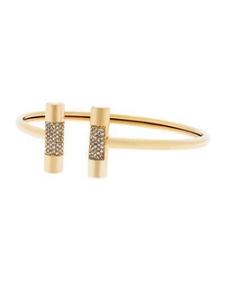 City Barrel Pave Open Cuff Bracelet by Michael Kors in Jane the Virgin