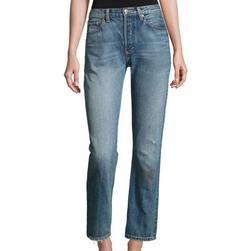 Vintage Straight-Leg Jeans by Vince in Unbreakable Kimmy Schmidt