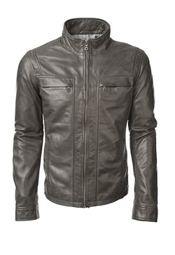 Grant Lamb Leather Jacket by Danier in Arrow