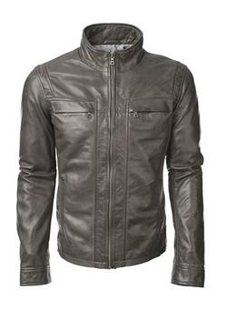 Grant Lamb Leather Jacket by Danier in Arrow