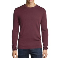Interlock Long-Sleeve Cashmere Sweater by Michael Kors in Arrow
