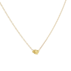 Small Gold Nugget Necklace by Blair Lauren Brown in Ashby