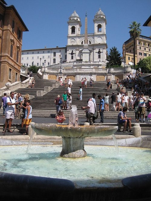 Spanish Steps Rome, Italy in The Man from U.N.C.L.E.