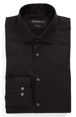 Slim Fit Dress Shirt by John Varvatos Star USA in Contraband