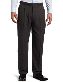 Men's Soft Plaid Pant by Savane in St. Vincent