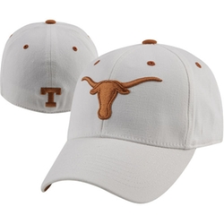 Texas Longhorns White One-Fit Hat by Texas Sports in My All American