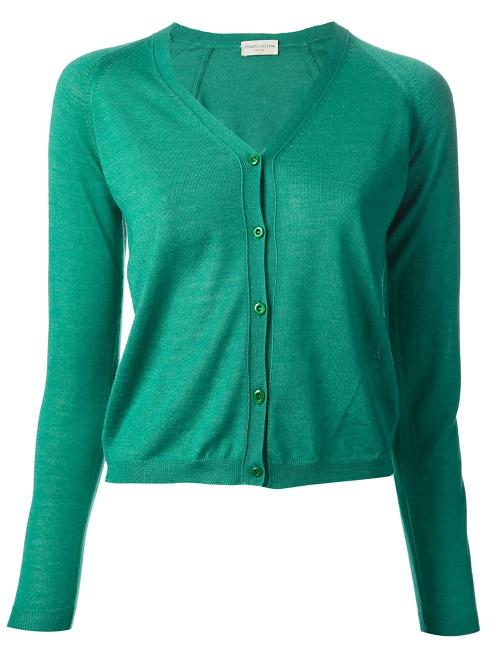 V-neck Cardigan by Roberto Collina in The Other Woman