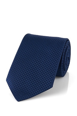 'Tie Traveler'  Italian Silk Textured Tie by Hugo Boss in The Good Wife