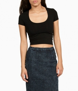 Pennyroyal Crop Top by Groceries in Pretty Little Liars