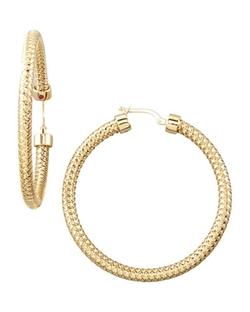 Primavera Hoop Earrings by Roberto Coin in Ballers