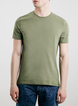 Washed Crew Neck T-Shirt by Topman in The Finest Hours