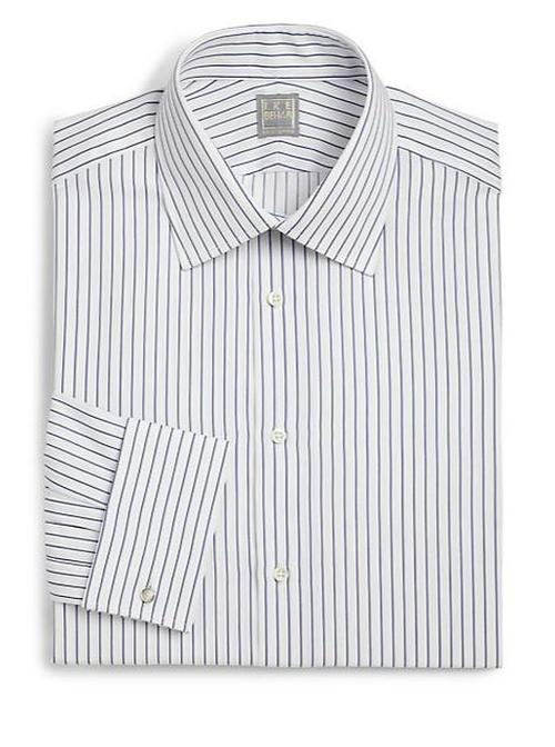 Regular-Fit Crosby Striped Dress Shirt by Ike Behar in Ballers - Season 1 Episode 1
